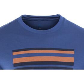 Odlo BL Alliance LS Top Crew Neck Men sodalite blue-placed print
